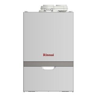 Rinnai Condensing Boiler (Boiler Max HTG Btu 160,000 Solo NG) M160SN White