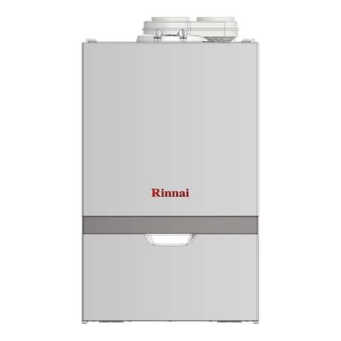 Rinnai Condensing Boiler (Boiler Max HTG Btu 90K DHW 160K Combi NG) M090CN White