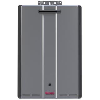 Rinnai Tankless Water Heater (Ext CTWH 199k Btu 11gpm max w/Valve) RU199eN Silver