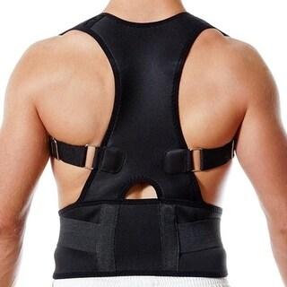 F.S.D Posture Corrective Back Brace - Black