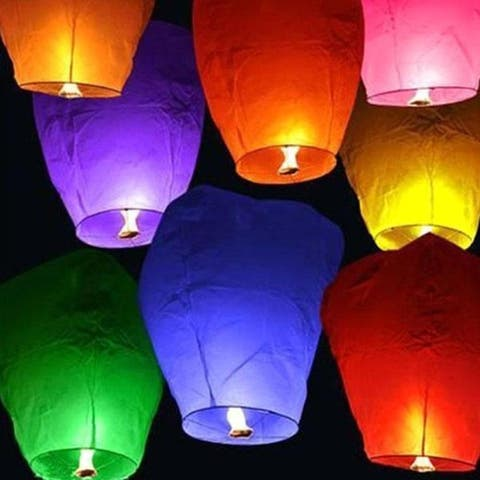 F.S.D Chinese Sky Fly Fire Lanterns