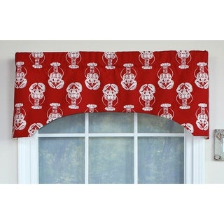 RLF Home Claws-N-Tails Arch Window Valance