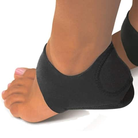 F.S.D Foot Shock-Absorbing Plantar Fasciitis Therapy Wraps - Black