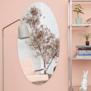 Porch & Den Barrington Oval Unframed Mirror