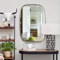 Renwil Sophia Irregular Framed Lead Aluminum Mirror