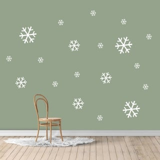 Snowflake Set Wall Decals - MEDIUM