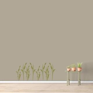Blossom Grass Wall Decal - MEDIUM