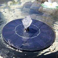 F.S.D Solar Powered Fountain Pump