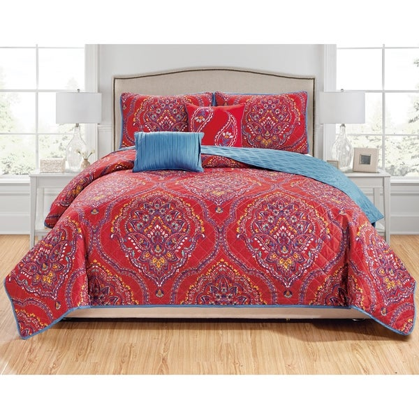 RT Designers Collection Jayna 5-Piece Quilt Set