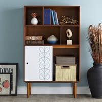 Carson Carrington Norman Bookshelf with Reversible Door