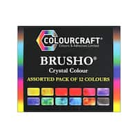 Brusho Crystal Color Set 12 Color