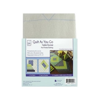 June Tailor Kit Quilt As/Go Ctn/Poly Table Runner