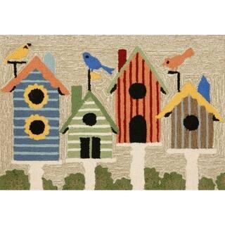 Liora Manne Birdhouses Indoor/Outdoor Mat