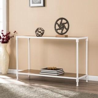 Harper Blvd Lavra Industrial Rectangular Console Table w/ Storage Shelf