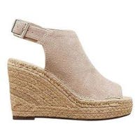 Women's Kenneth Cole New York Olivia Wedge Cream Suede