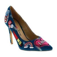 Women's Penny Loves Kenny Mixed Pump Blue Denim