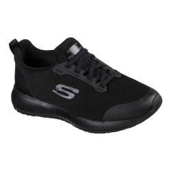Women's Skechers Work Squad Slip Resistant Sneaker Black