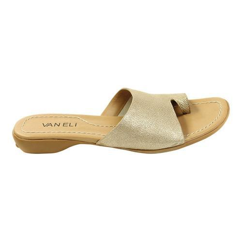 VANELi Tallis Flat Sandal(Women's) -Navy Summer Vip Leather Buy Online Authentic Free Shipping Limited Edition Clearance Perfect FE4Tc