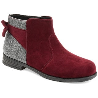 Journee Kids Girl's Chelsea Bootie