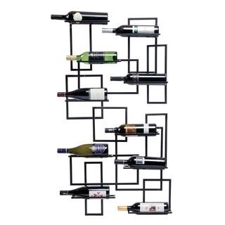 Mid Century Wall Wine Rack