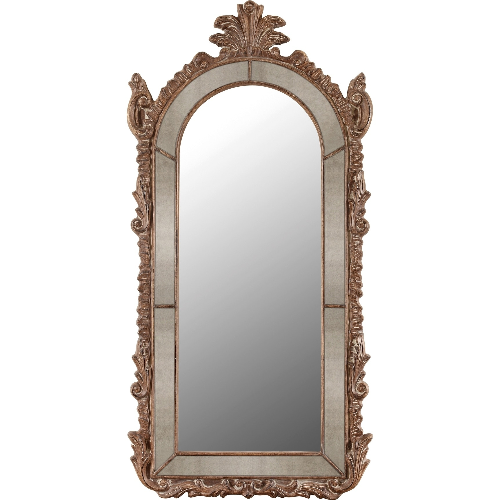 Antique Furniture Apprehensive Antique Wooden Wall Hanging Mirror Great Vintage Condition Online Discount Antiques