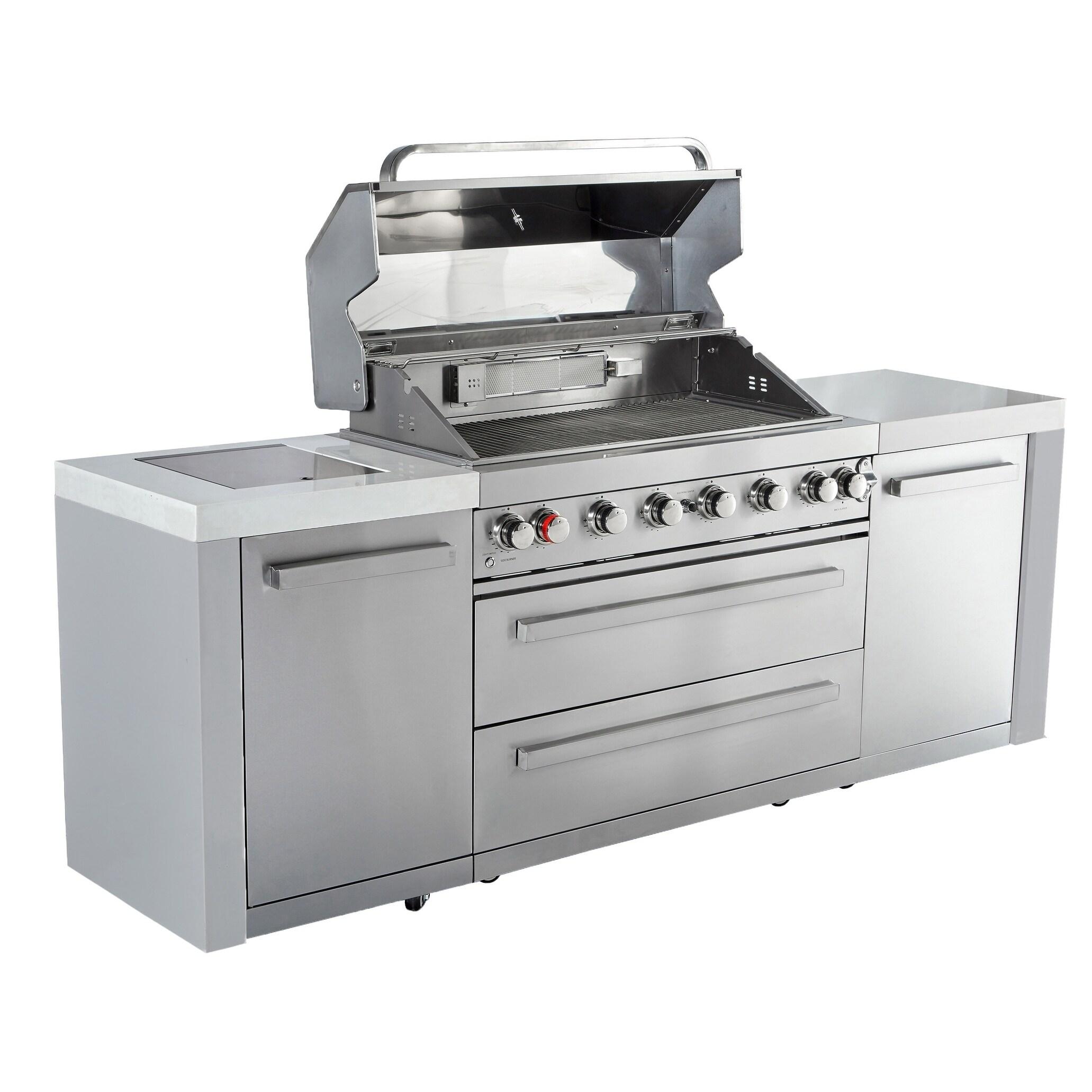 Mont Alpi BBQ Island MAi805 Outdoor Kitchen