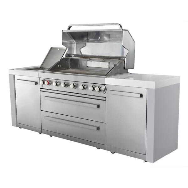 Shop Mont Alpi BBQ Island MAi805 Outdoor Kitchen - Free ...