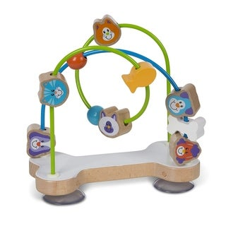 First Play Pets Bead Maze Baby Toy, Multi - N/A