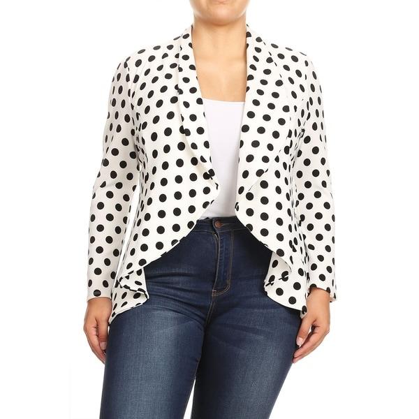 Women's Casual Stretch Comfort Blazer Jacket. Opens flyout.