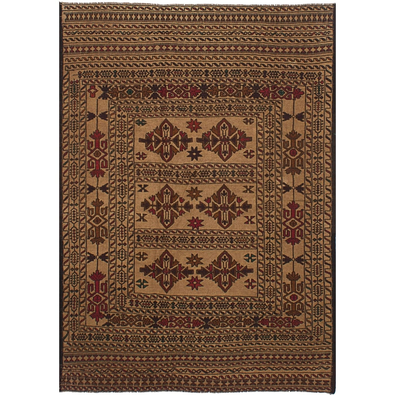 """Actual 1/'10/""""x7/'3/"""" Traditional Oriental Medallion Rug 2x7 Persien Style Runner"""
