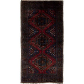 eCarpetGallery Hand-knotted Konya Anatolian Red Wool Rug - 5'0 x 9'10
