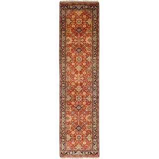 eCarpetGallery  Hand-knotted Serapi Heritage Red Wool Rug - 2'6 x 10'1