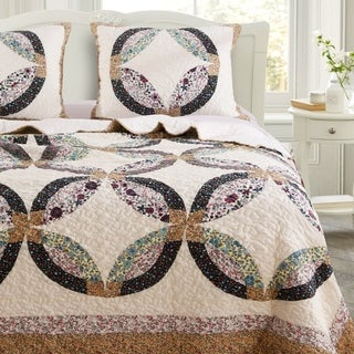 Greenland Home Sweet Caroline Authentic Patchwork Oversized Quilt Set