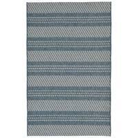 "Double Stripe Outdoor Rug (9'2"" x 12'3"") - 9'2"" x 12'3"""
