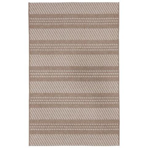 """Liora Manne Double Stripe Outdoor Rug (9'2"""" x 12'3"""")"""