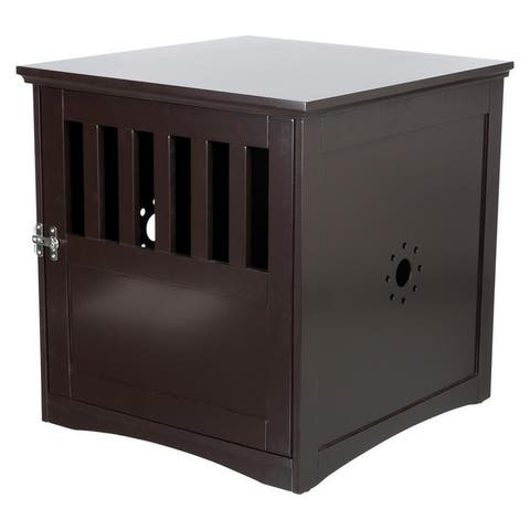 TRIXIE Coffee Table Style Dog Crate (brown)