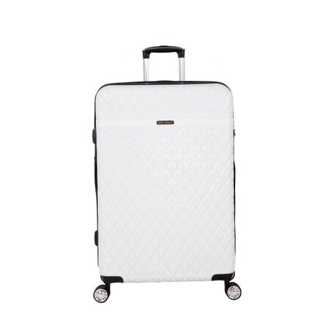 Kathy Ireland Yasmine 29-inch Hardside Spinner Suitcase in Pearl White - N/A