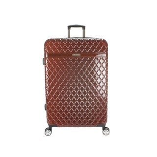 Kathy Ireland Yasmine 29-inch Hardside Spinner Suitcase in Bronze