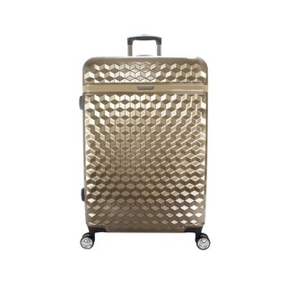 Kathy Ireland Audrey 29-inch Hardside Spinner Suitcase in Tan