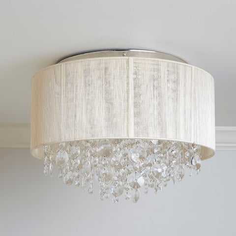 Serena String Beaded Flush Mount Ceiling Light