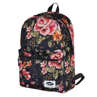 Olympia Cornell Flower 18-inch Backpack