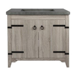 2 Door Vanity Sink  with Cement Top