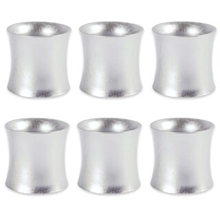 Design Imports Curved Painted Acrylic Kitchen Napkin Ring Set (Set of 6)
