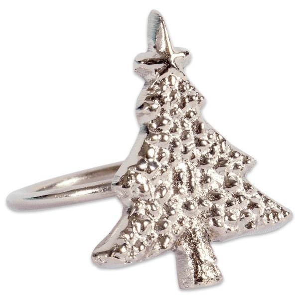 Napkin Rings DII Napkin Ring Christmas Tree S/6