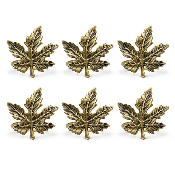 Maple Leaf Napkin Rings