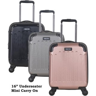 Kenneth Cole Reaction 16in Lightweight Hardside ABS Expandable 4-Wheel Spinner Underseater Mini Carry On Suitcase