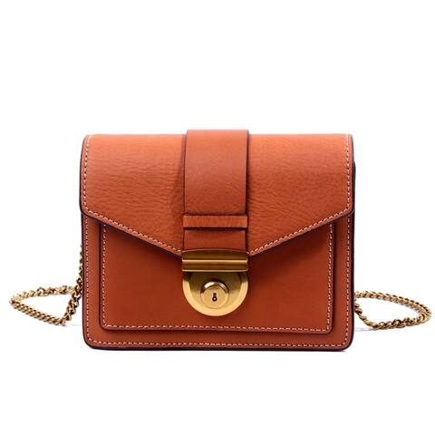 Foressence Clara Genuine Leather Crossbody Bag