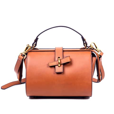 Foressence Grace Genuine Leather Satchel