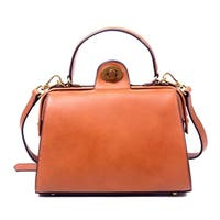 Foressence Lydia Genuine Leather Satchel