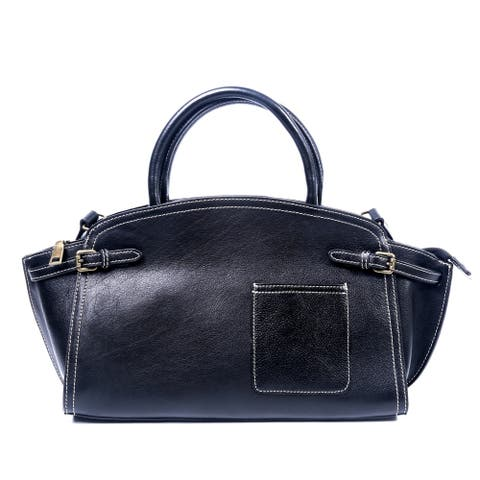 Foressence Mia Genuine Leather Satchel